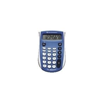 Texas Instruments TI-503 SV Tasca Calcolatrice di base Blu, Bianco calcolatrice