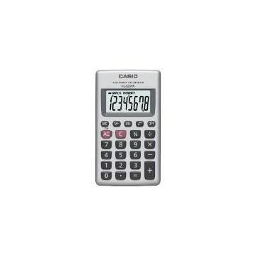 Casio HL-820VA Tasca Basic calculator Argento calcolatrice