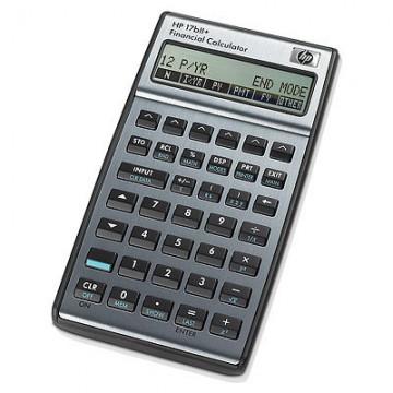 HP 17bII+ Tasca Financial calculator Argento