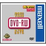 DVD-RW  4.7GB  2X  JEWELL  CONF.5 F