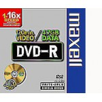 DVD-R 4.7GB  16X SLIM CASE CF.10  F