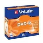 DVD-R 4 7GB 16X SERIGR.CONF.5     )