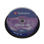 SPINDLE 10 DVD+R 4 7GB 16X CF.10  S
