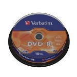 SPINDLE 10 DVD-R 4 7GB 16X  C.10  S