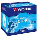 CDR MUSIC LIVE-IT COLOR 80  CF.10