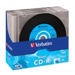 CDR DATALPLUS VINYL 80 52X CONF.10)
