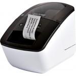 Brother QL-700 Termica diretta 300 x 300DPI Nero, Bianco stampante per etichette (CD)