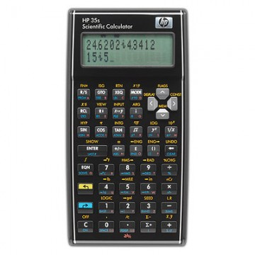 HP F2215AA Tasca Scientific calculator Nero calcolatrice