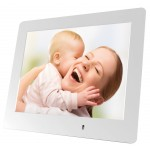 MEDIACOM PHOTO FRAME SLIM 8 WHITE