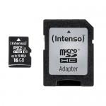 MICRO SD CON ADATTATORE 16GB UHS