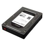 """StarTech.com Box esterno adattatore per dischi rigidi SATA da 2,5"""" a 3,5\"""" in alluminio con altezza massima SSD / HDD di 12"""