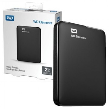 Western Digital ELEMENTS PORTABLE SE 2TB - WDBU6Y0020BBK-WESN